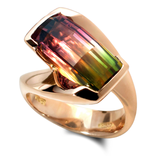 Corona bi-colour Tourmaline