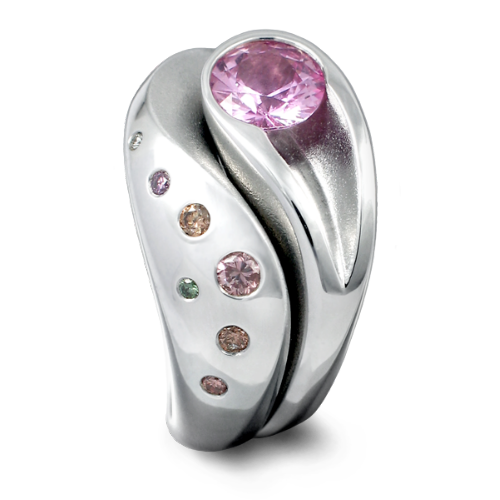 Wave Pink Sapphire